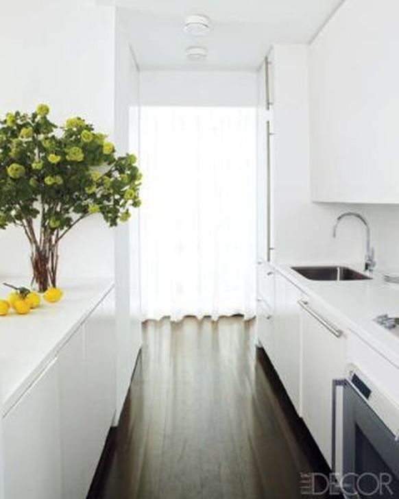 Awesome White And Clear Kitchen Design Ideas 30