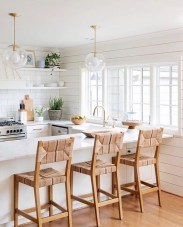 Awesome White And Clear Kitchen Design Ideas 31