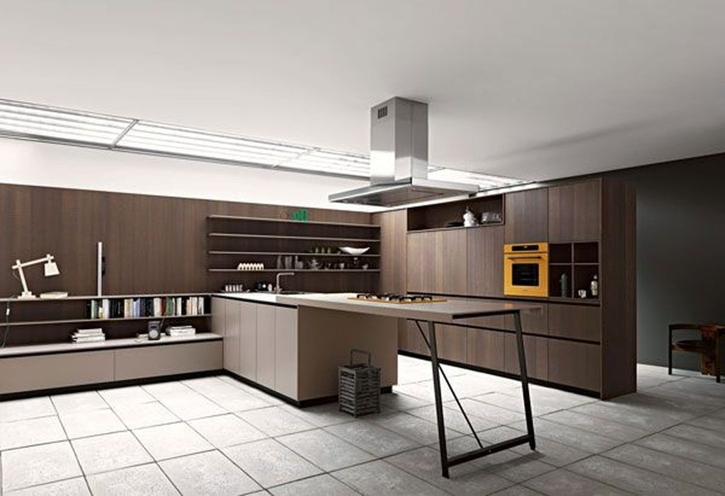 Awesome White And Clear Kitchen Design Ideas 35