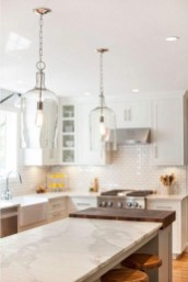 Awesome White And Clear Kitchen Design Ideas 39
