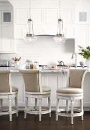 Awesome White And Clear Kitchen Design Ideas 41