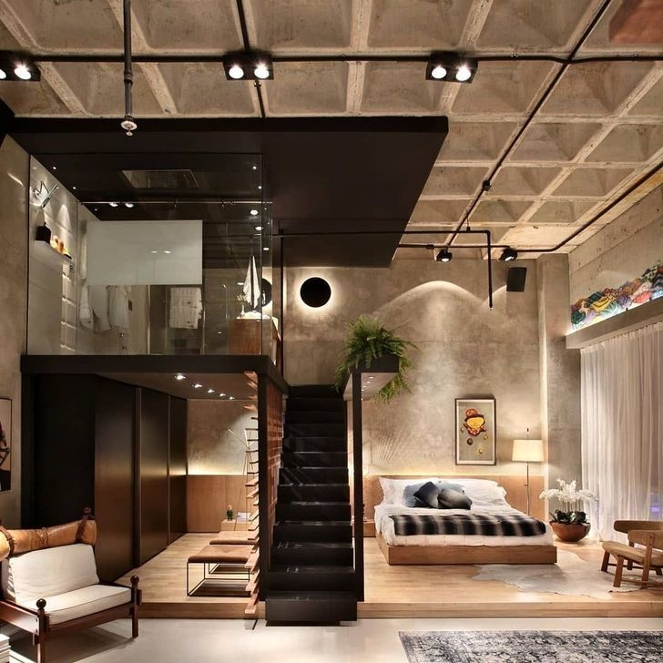Cozy Loft Home Decor Ideas Thath Everyone Should Have 40