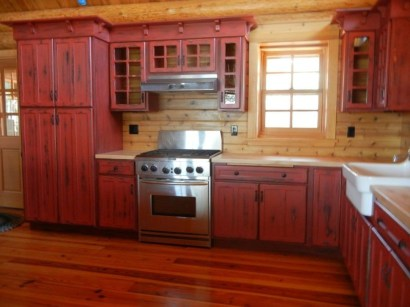 Cozy Red Kitchen Wall Decoration Ideas For You 02