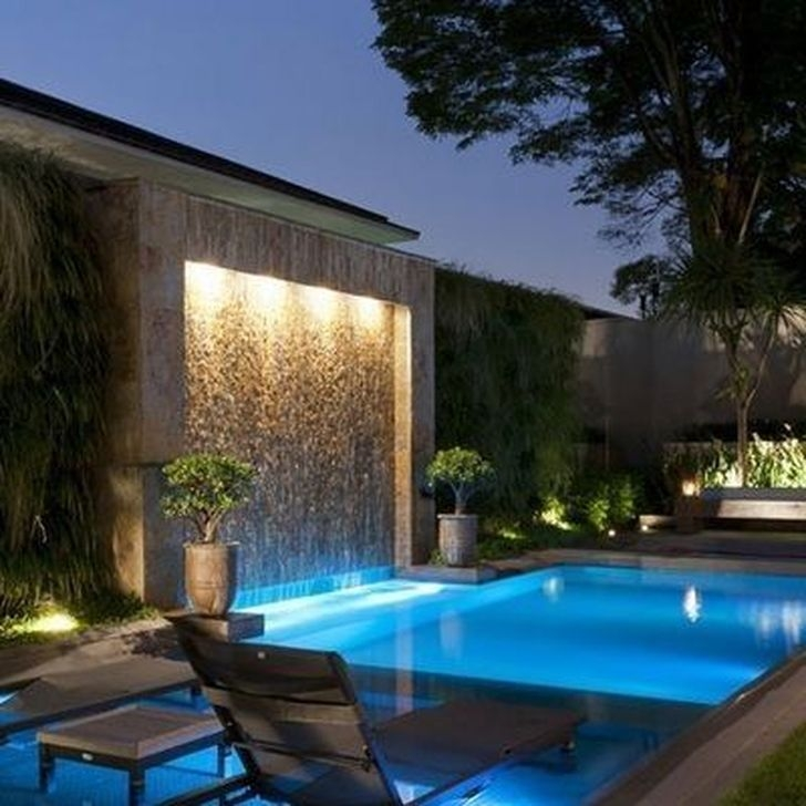 Glamorous Garden Design Ideas With Swimming Pools 21