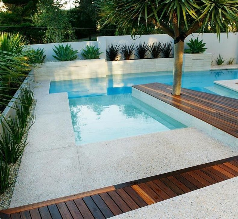Glamorous Garden Design Ideas With Swimming Pools 24