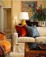 Inspiring French Living Room Decorating Ideas 43