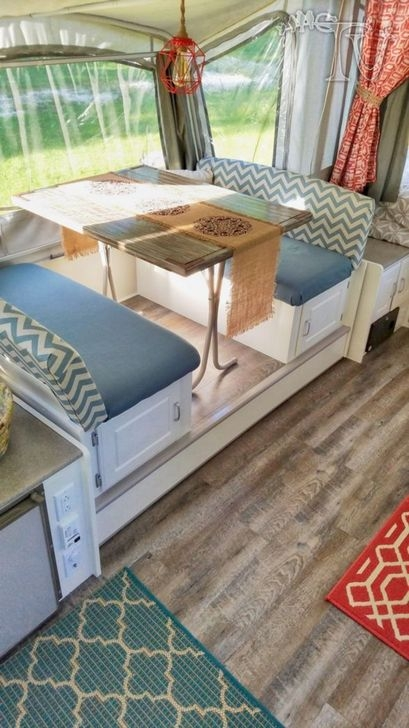 Popular Rv And Camper Hack Decoration Ideas For Family 13