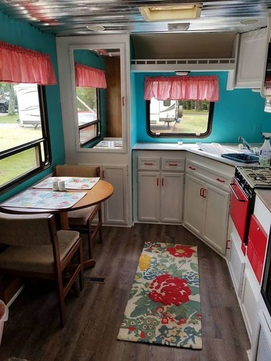 Popular Rv And Camper Hack Decoration Ideas For Family 18