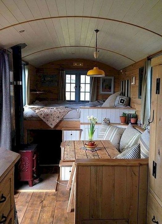 Popular Rv And Camper Hack Decoration Ideas For Family 20