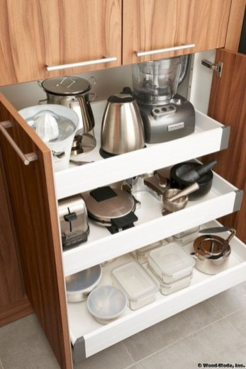 Pretty Hidden Storage Ideas For Kitchen Decor 14