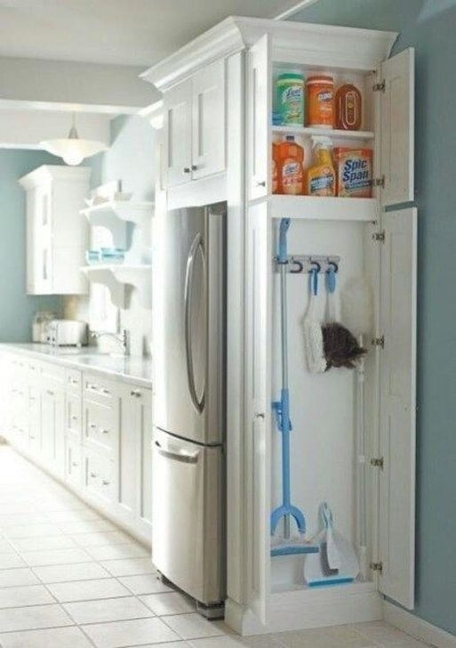 Pretty Hidden Storage Ideas For Kitchen Decor 28