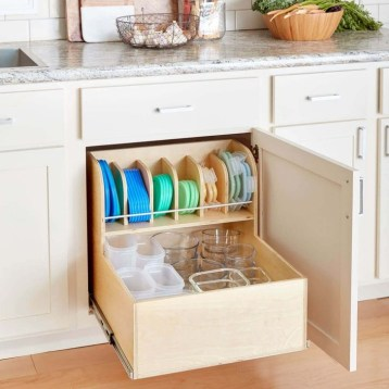 Pretty Hidden Storage Ideas For Kitchen Decor 43