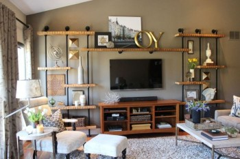Rustic Living Room Decoration Ideas With Some Ornament 01