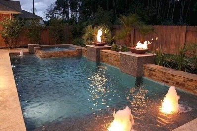 Comfy Backyard Designs Ideas With Swimming Pool Looks Cool 05