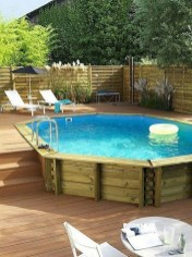 Comfy Backyard Designs Ideas With Swimming Pool Looks Cool 42