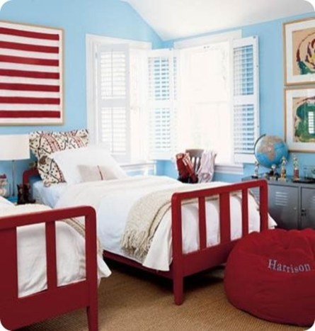 Comfy Red Bedroom Decorating Ideas For You 10