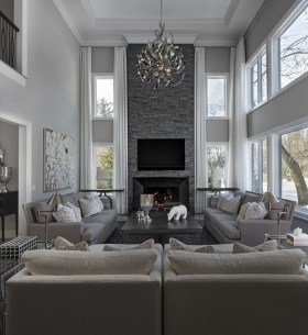 Cool Ceilings Lighting Design Ideas For Living Room To Try 15