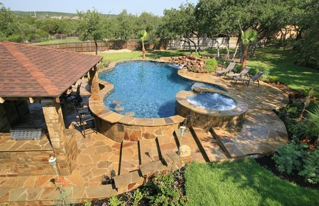 Creative Swimming Pools Design Ideas For Your Yard 24