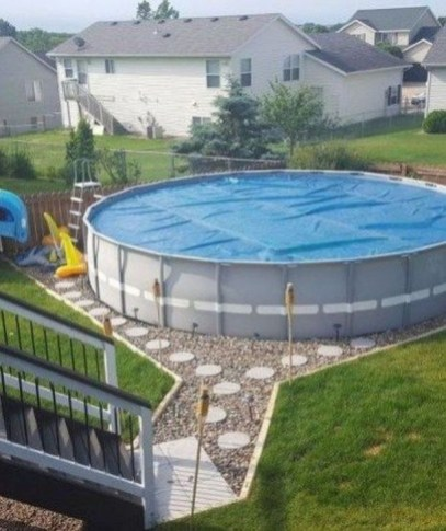 Creative Swimming Pools Design Ideas For Your Yard 39