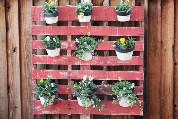 Fascinating Diy Wood And Leather Trellis Plant Ideas For Wall To Try 28