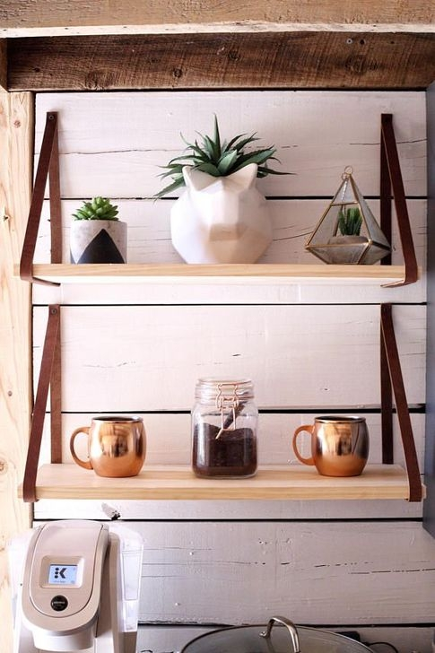 Fascinating Diy Wood And Leather Trellis Plant Ideas For Wall To Try 36