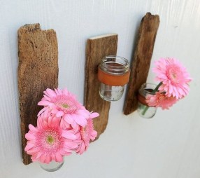 Fascinating Diy Wood And Leather Trellis Plant Ideas For Wall To Try 41