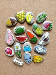 Glamour Diy Painted Rocks Animals Cats Ideas For Summer 05