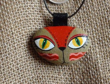 Glamour Diy Painted Rocks Animals Cats Ideas For Summer 40