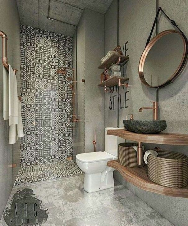 Lovely Farmhouse Bathroom Makeover Ideas To Try Right Now 14
