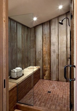 Lovely Farmhouse Bathroom Makeover Ideas To Try Right Now 39