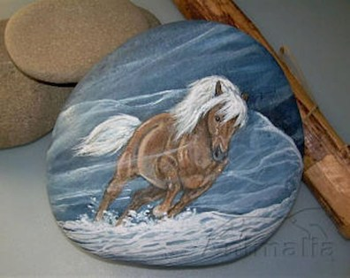 Marvelous Diy Projects Painted Rocks Animals Horse Ideas For Summer 09