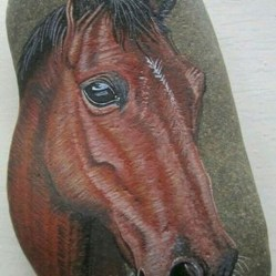 Marvelous Diy Projects Painted Rocks Animals Horse Ideas For Summer 23