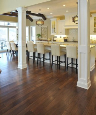 Rustic Wood Floor Ideas For Amazing Kitchen 43