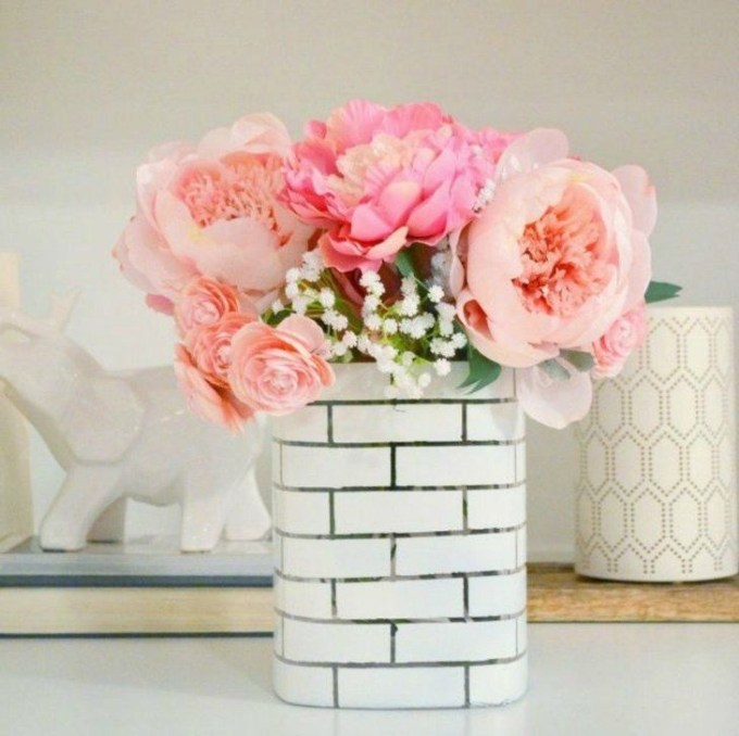 Splendid Diy Flower Vase Ideas To Add Beauty Into Your Home 35