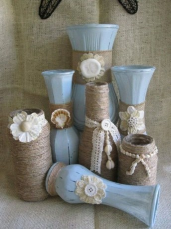 Splendid Diy Flower Vase Ideas To Add Beauty Into Your Home 40