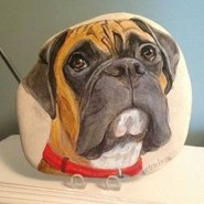 Splendid Diy Projects Painted Rocks Animals Dogs Ideas For Summer 15