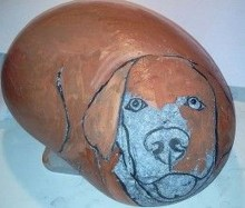 Splendid Diy Projects Painted Rocks Animals Dogs Ideas For Summer 29