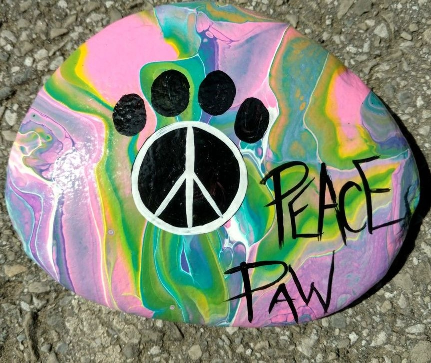 Splendid Diy Projects Painted Rocks Animals Dogs Ideas For Summer 30