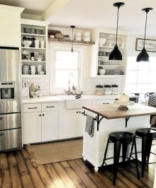 Stylish Farmhouse Kitchen Design Ideas To Bring Classic Look 14