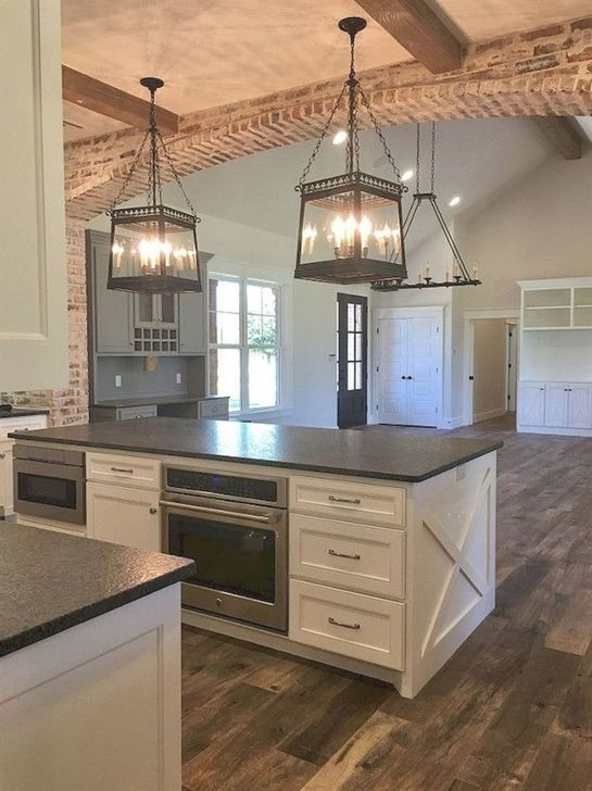 Unordinary Farmhouse Kitchen Ideas For Your House Design 12