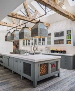 Unordinary Farmhouse Kitchen Ideas For Your House Design 22