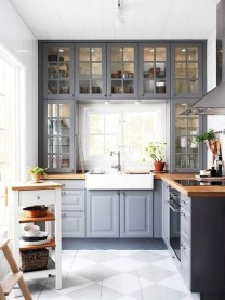 Unordinary Farmhouse Kitchen Ideas For Your House Design 41