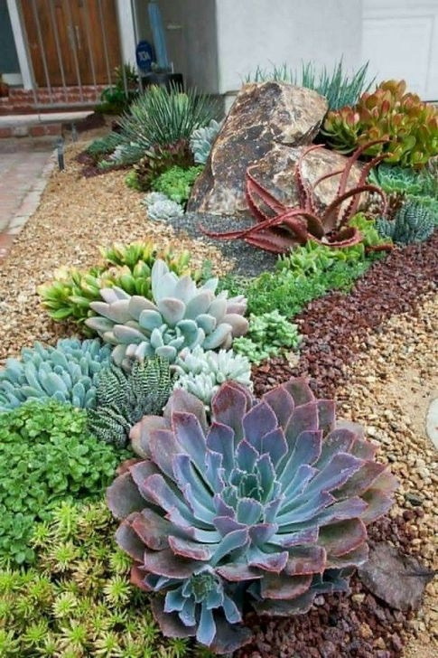 Unusual Front Yard Landscaping Design Ideas That Looks Great 27