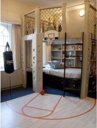 Comfy Small Bedroom Ideas For Your Son To Try 31