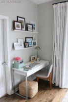 Outstanding Mini Office Design Ideas In The Living Room 20