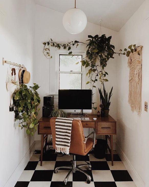 Outstanding Mini Office Design Ideas In The Living Room 26