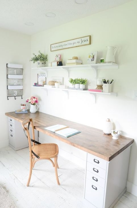 Outstanding Mini Office Design Ideas In The Living Room 37