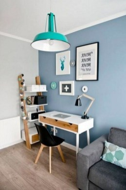 Outstanding Mini Office Design Ideas In The Living Room 45