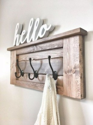 Relaxing Wooden Rack Ideas To Be Applied Into Any Home Styles 11