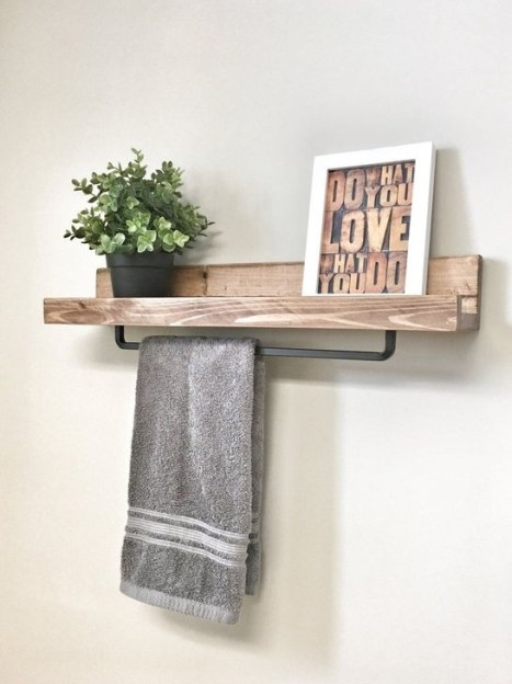 Relaxing Wooden Rack Ideas To Be Applied Into Any Home Styles 17